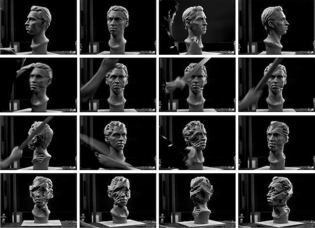 Self Portrait, 2011, video loop, 30', stills /  more