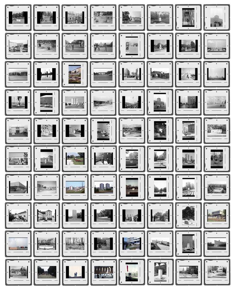 Ghost Veil, 2015, 80 diapositive slides /  details