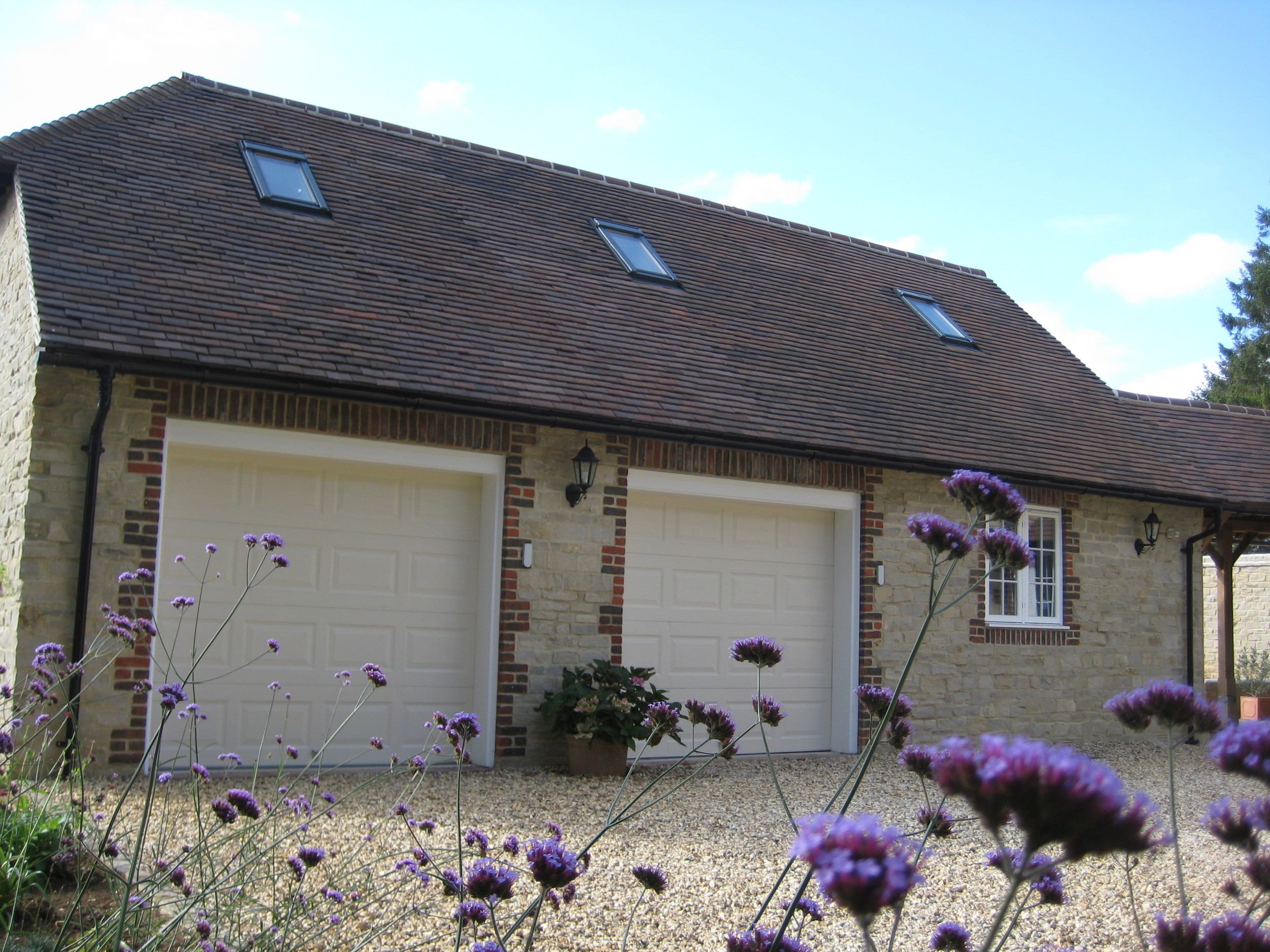 New build house, Wiltshire