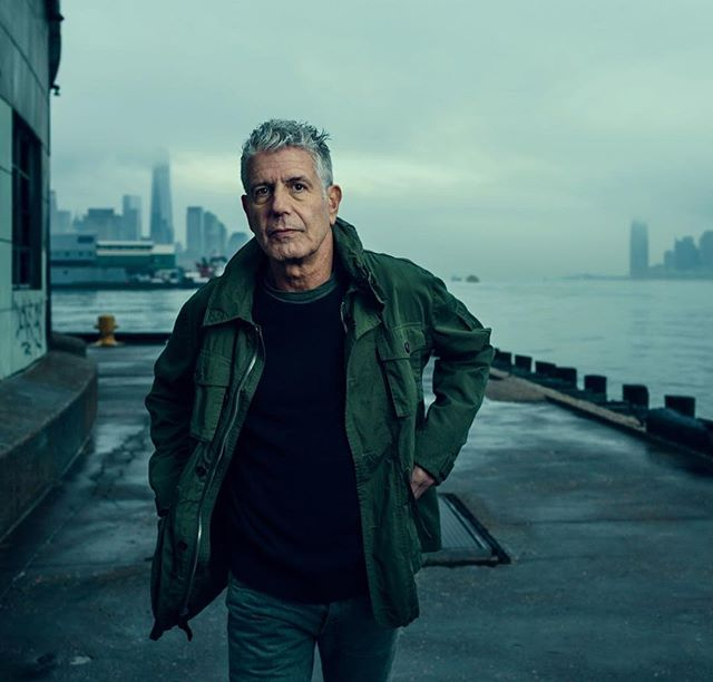 Kitchen Confidential was one of the big motivators that got me through my first years as a young chef.  Rest in peace @anthonybourdain 📷: Photo by @norman.jean.roy  #anthonybourdain #mentalhealthawareness