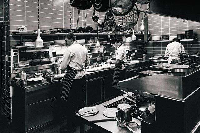 Memories from @courgetterestaurant  Seems like forever ago now. #throwback #cheflife #inthetrenches