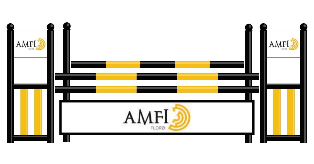 Amfi Florø har kjøpt inn dette flotte sponsor-hinderet!Vi takker så mye for bidraget og ser frem til å ta i bruk dette hinderet!