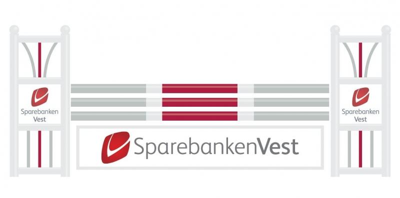 Sparebanken Vest har valgt å sponse klubben med dette flotte hinderet! Vi takker virkelig for bidraget, og har allerede stor glede av det.