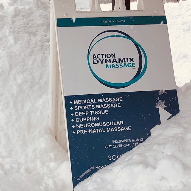 Shovel. Ski. Repeat?  Come warm up and wind down with us! We've got appointments available through the weekend! (And our parking lot is plowed!) Schedule online!  www.actiondynamix.org  #staywarm #snowday #sportsmassage #inbend #bendwellness #bendthrives