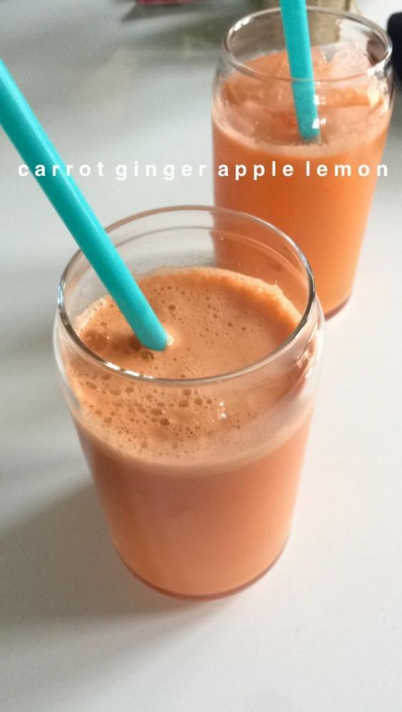 carrot, ginger, apple, lemon. juice recipes.
