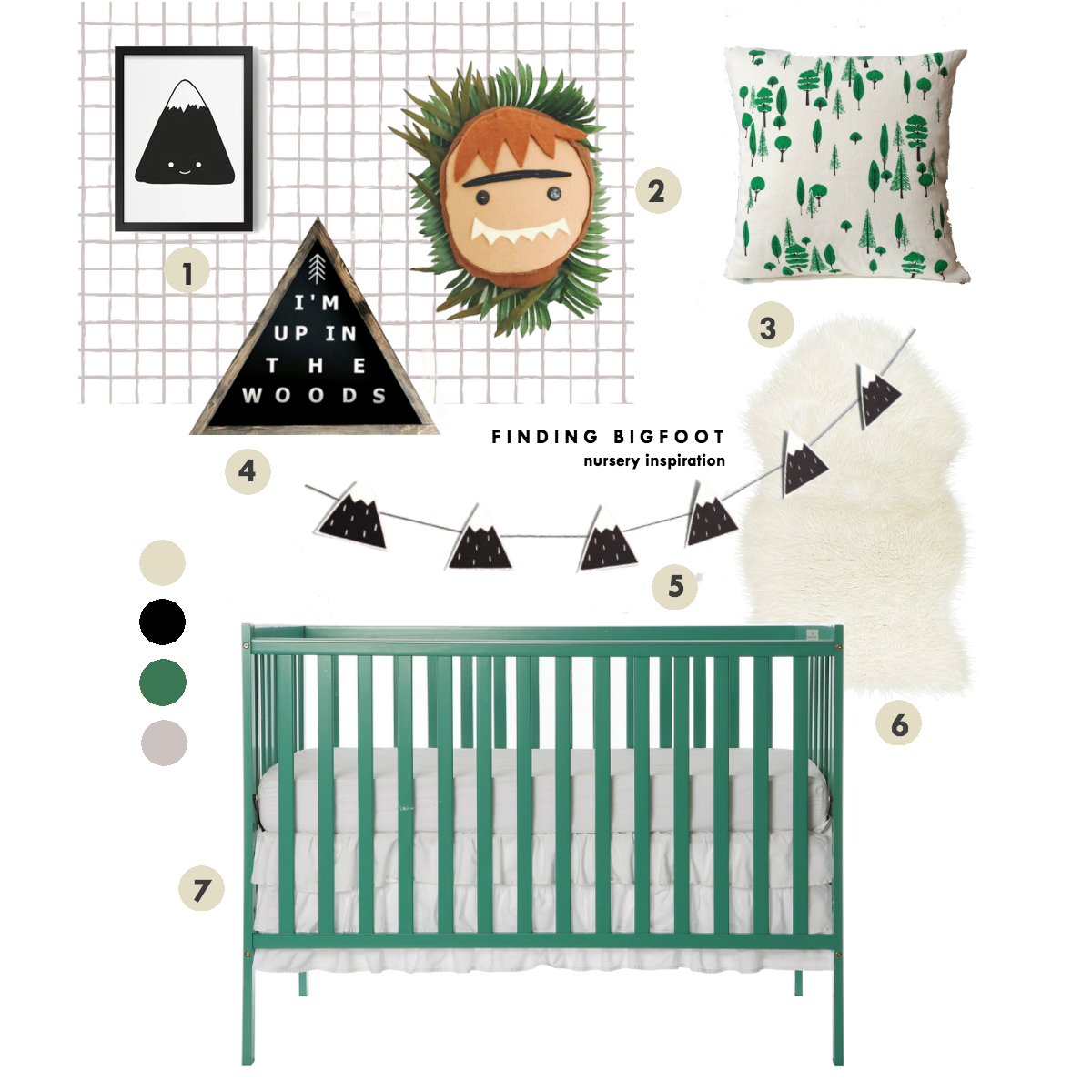 bigfoot nursery inspiration