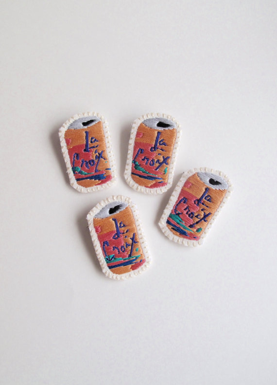 la croix embroidered patch