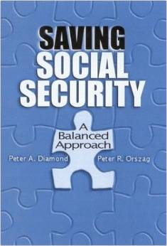 Saving Social Security: A Balanced Approach  (Brookings Institution Press, 2004), with Peter A. Diamond.  This book discusses how to save Social Security for the future.