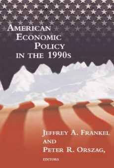 American Economic Policy in the 1990s  (MIT Press, 2002), co-edited with Jeffrey A. Frankel  This book discusses the successes of economic policy during the 1990s, as there was a growing surplus, and explores what policy could be put forth to improve the current economy.