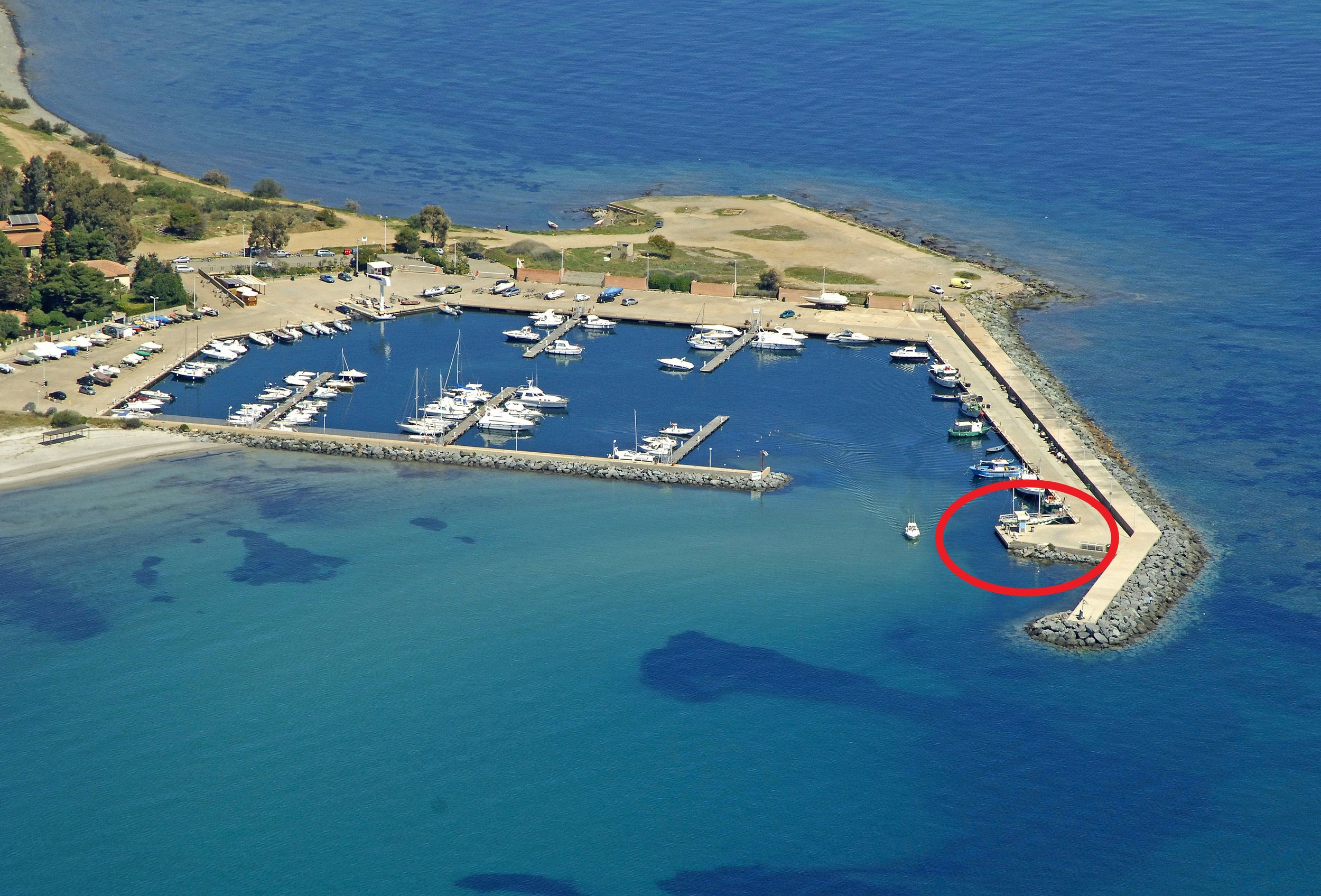 Marina di Perd'e Sali nautical gas station