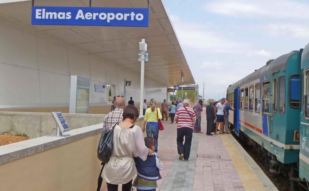 Elmas Airport Train Station -