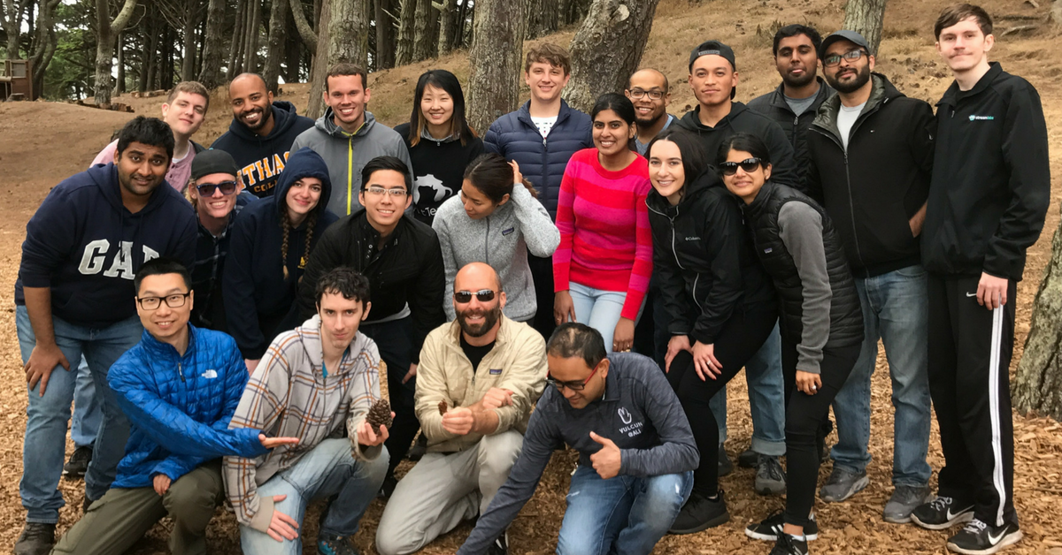 The Streamlabs team on a retreat