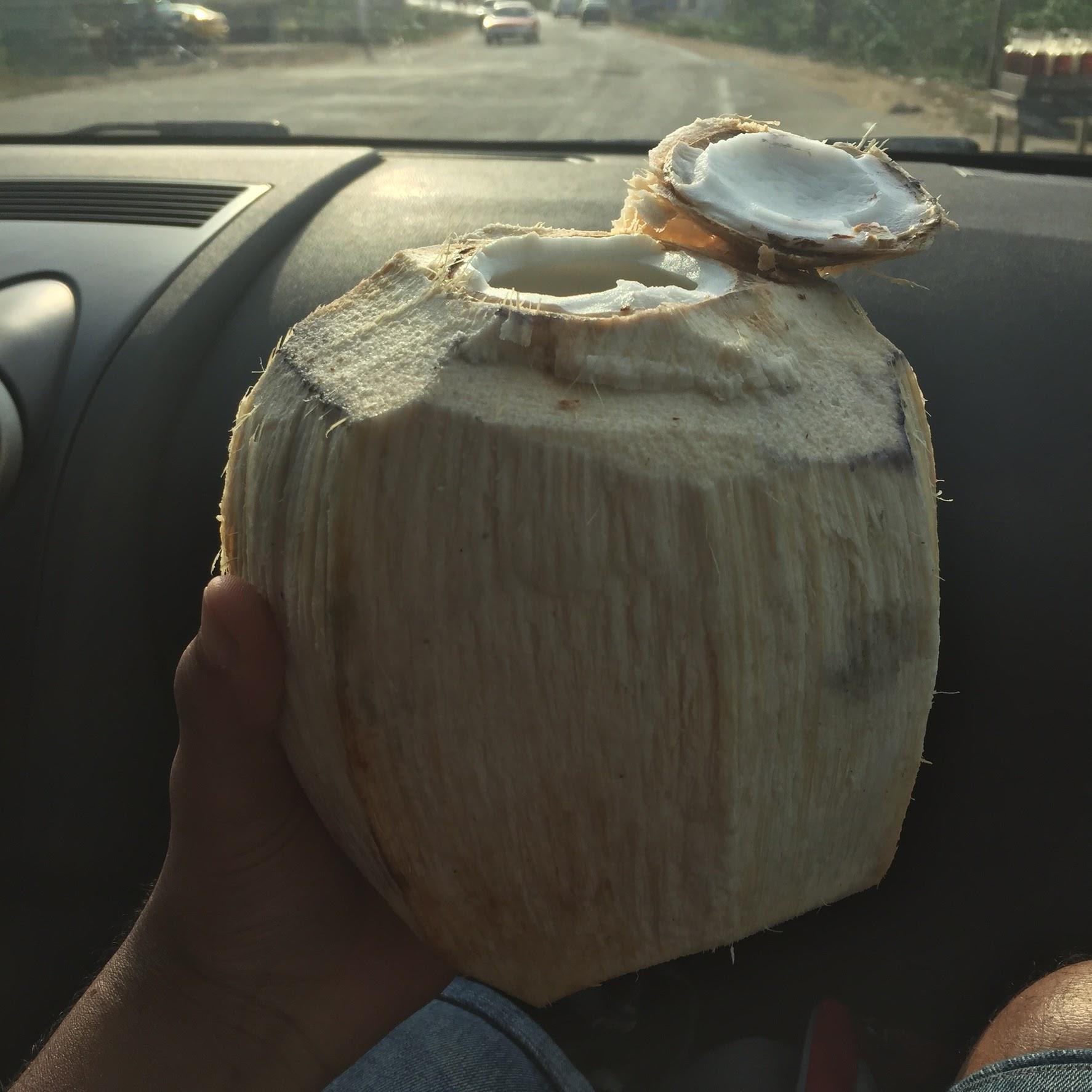 fresh coconut water