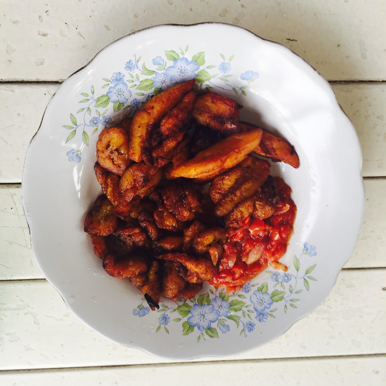 fried plantain (alloco)