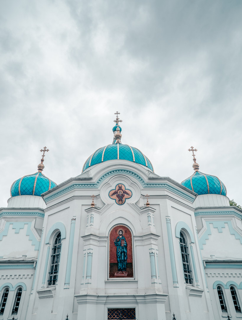 St Simeon and St Anne's Cathedral in Jelgava.