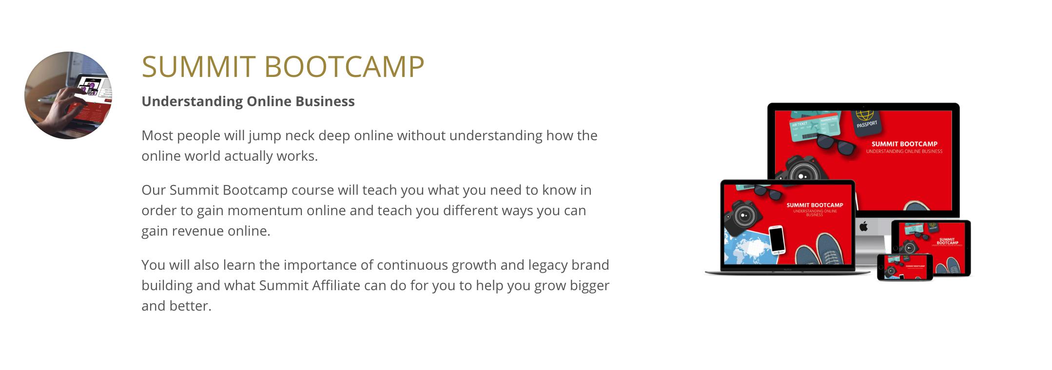 Summit Affiliate: Social Media Bootcamp Training