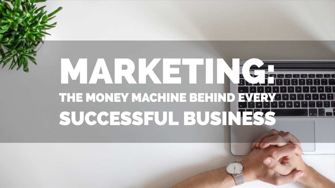 Marketing: The Money Machine Behind Every Successful Business
