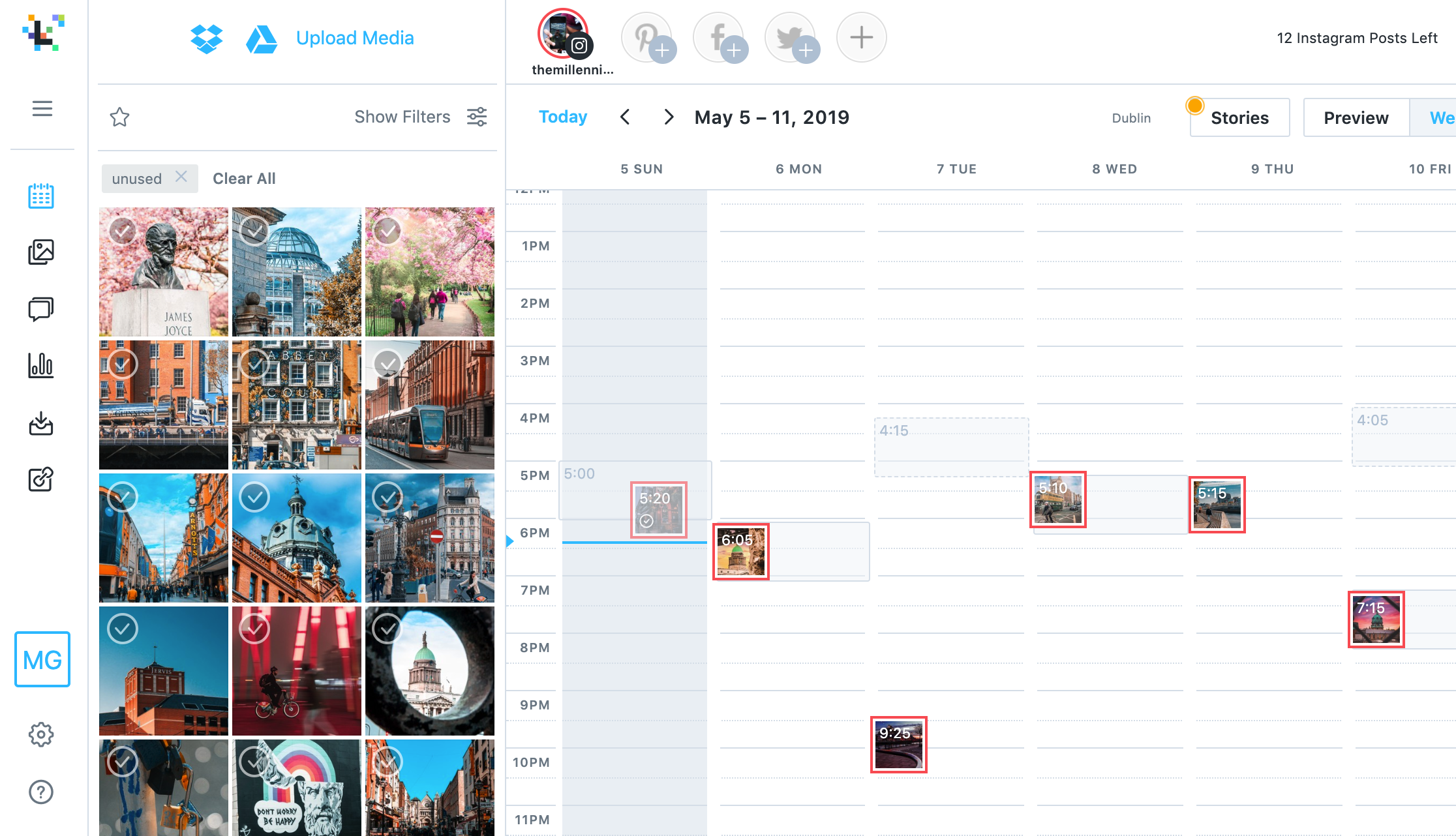 Later - schedule your instagram posts - alexandre kan