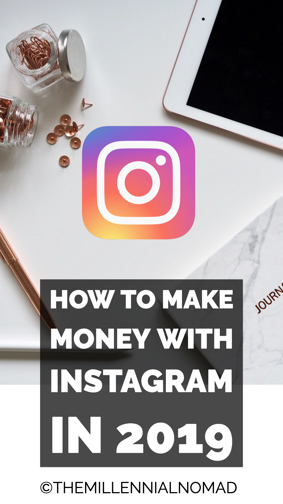 Discover how to make money with Instagram in 2019. #instagramforbusiness #instagrammarketing #instagramtips