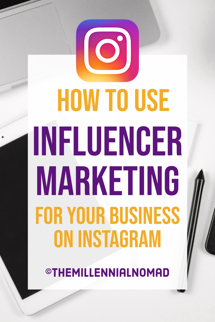 Influencer Marketing On Instagram Explained. Everything you need to know to work with influencers on Instagram to promote your products or services and get results. #influencermarketingfornewbies #instagramforbusiness #instagramtips #instagrammarketing