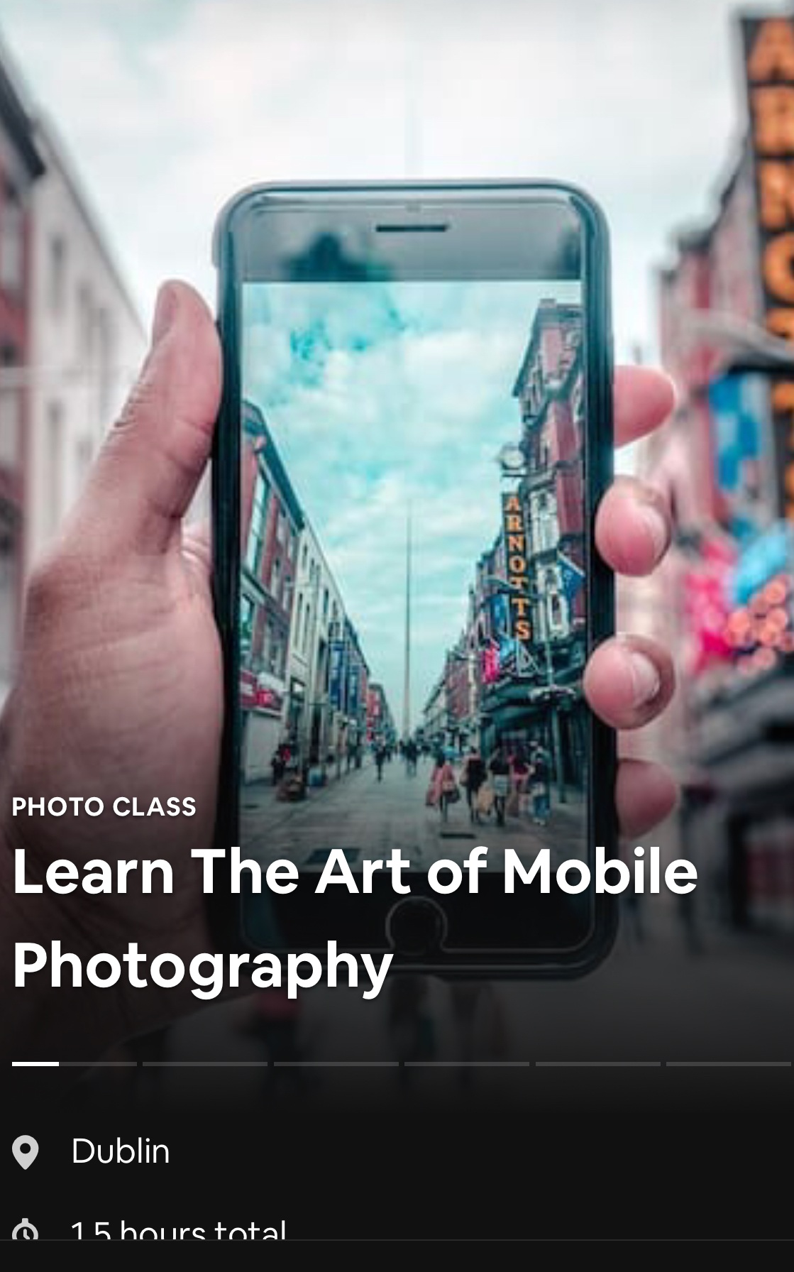learn the art of mobile photography