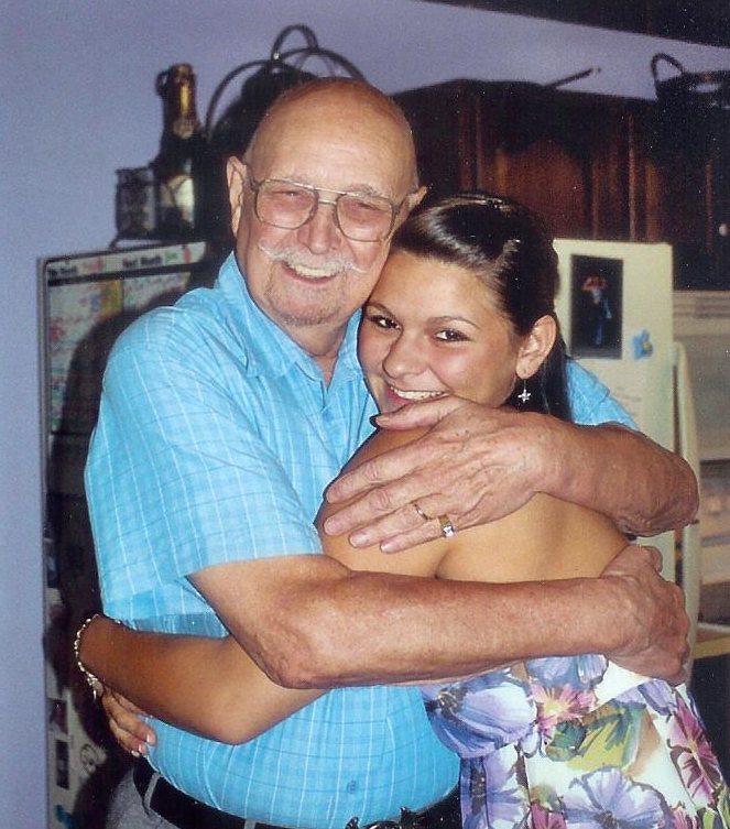 Dad & Starsea in 2008