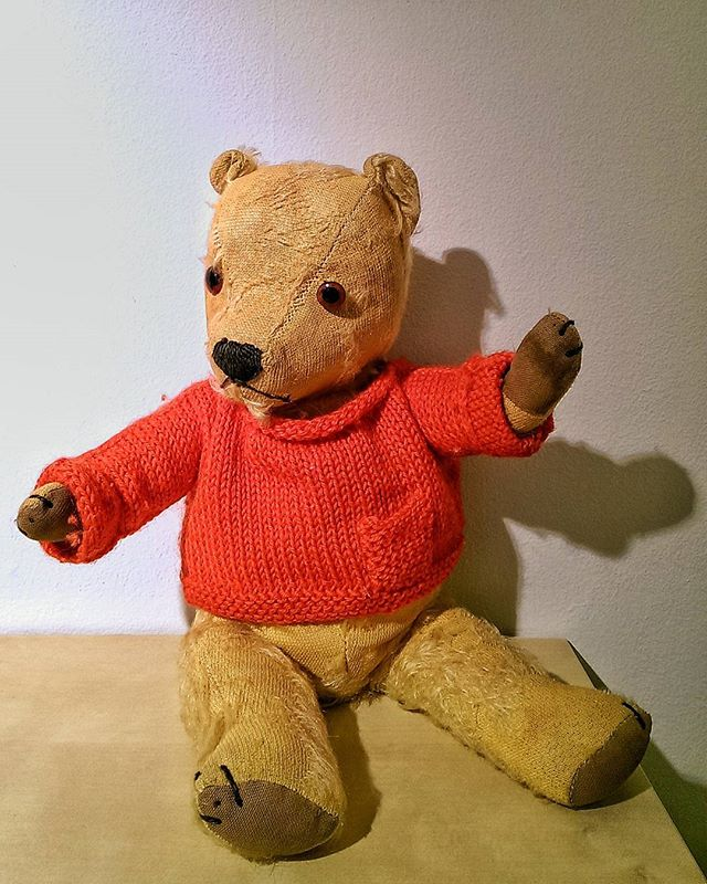#Vintage #British #TeddyBear that belonged to my Dad @tonystillwell
