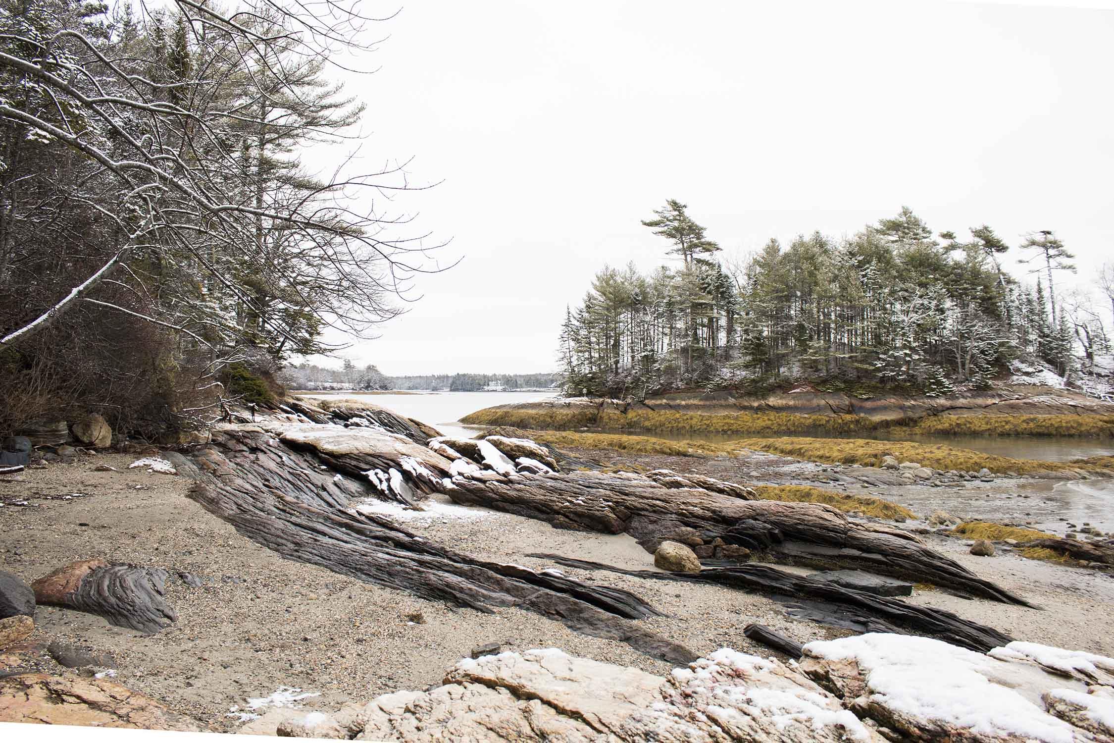 A Snowy December Weekend In Maine | Sea of Atlas