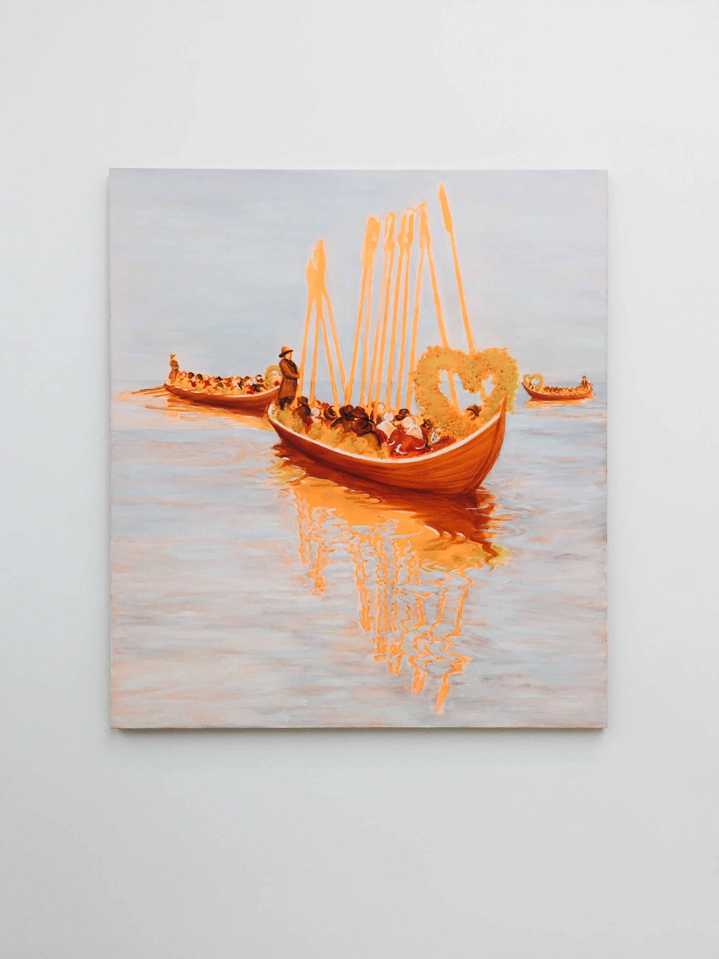 Church Boats by Sigrid Holmwood, 2007