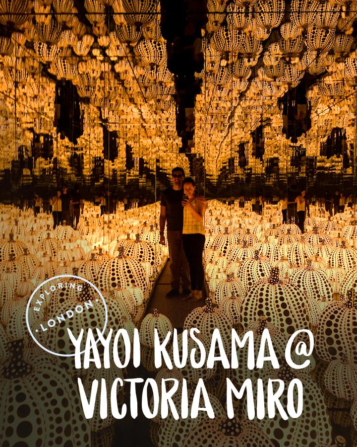 Exploring London: Yayoi Kusama at Victoria Miro | Sea of Atlas