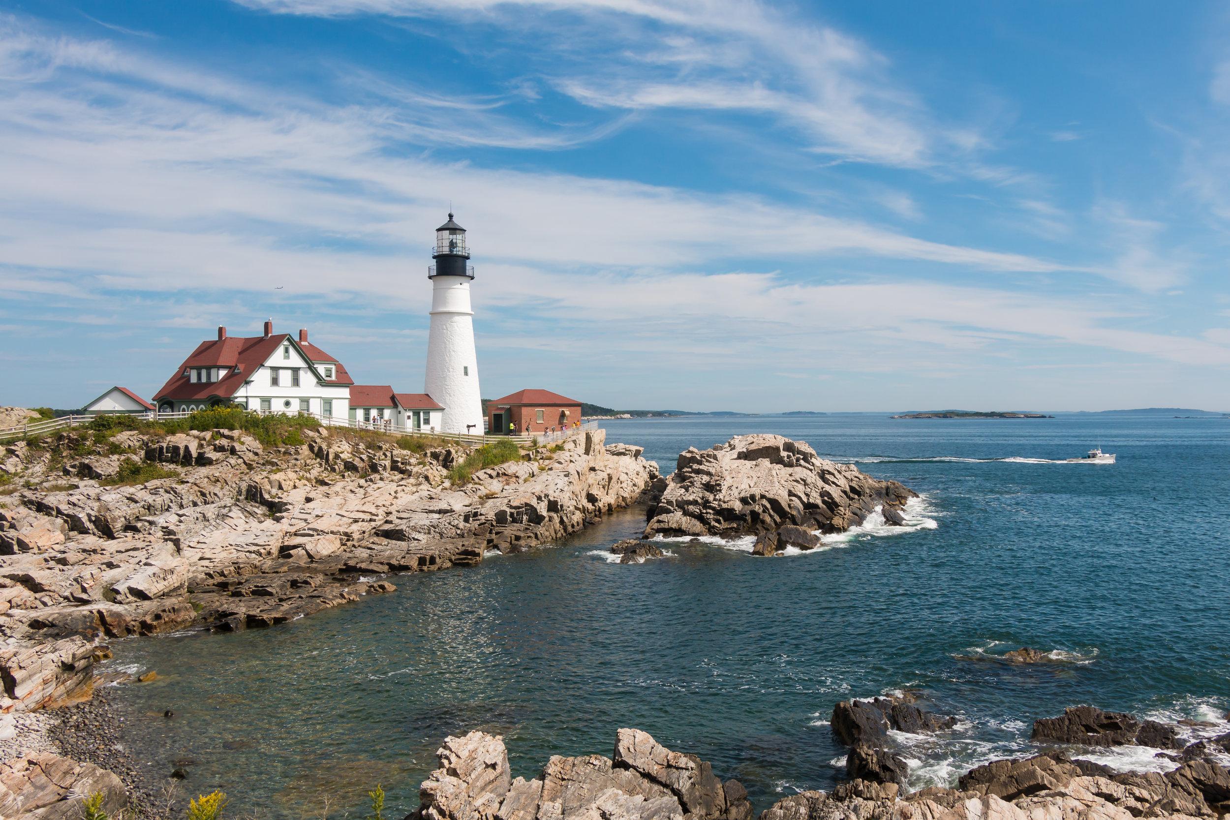 Portland Head Light | Portland, Maine | Sea of Atlas