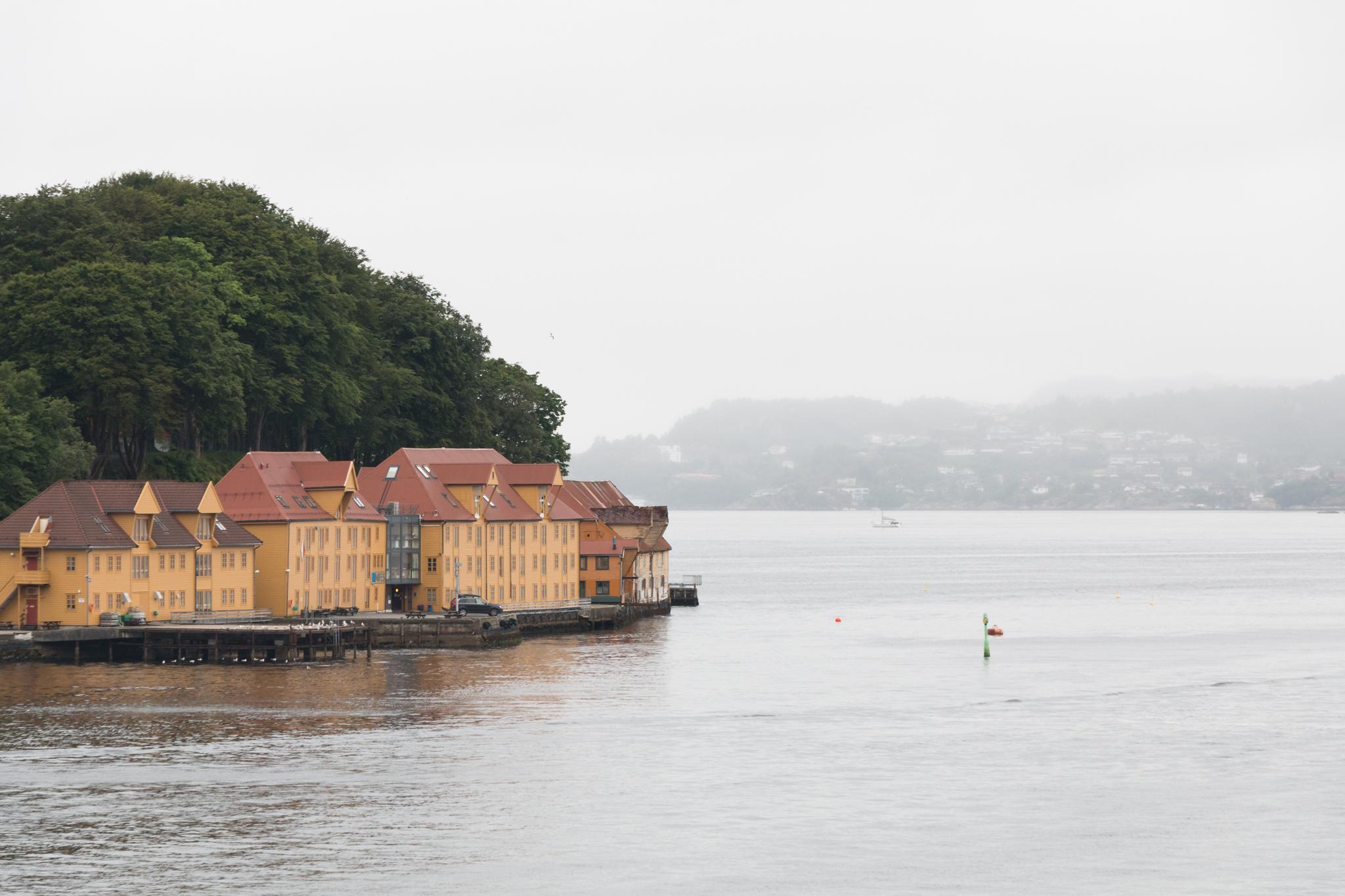 Views from Bergenhus Fortress, Bergen, Norway