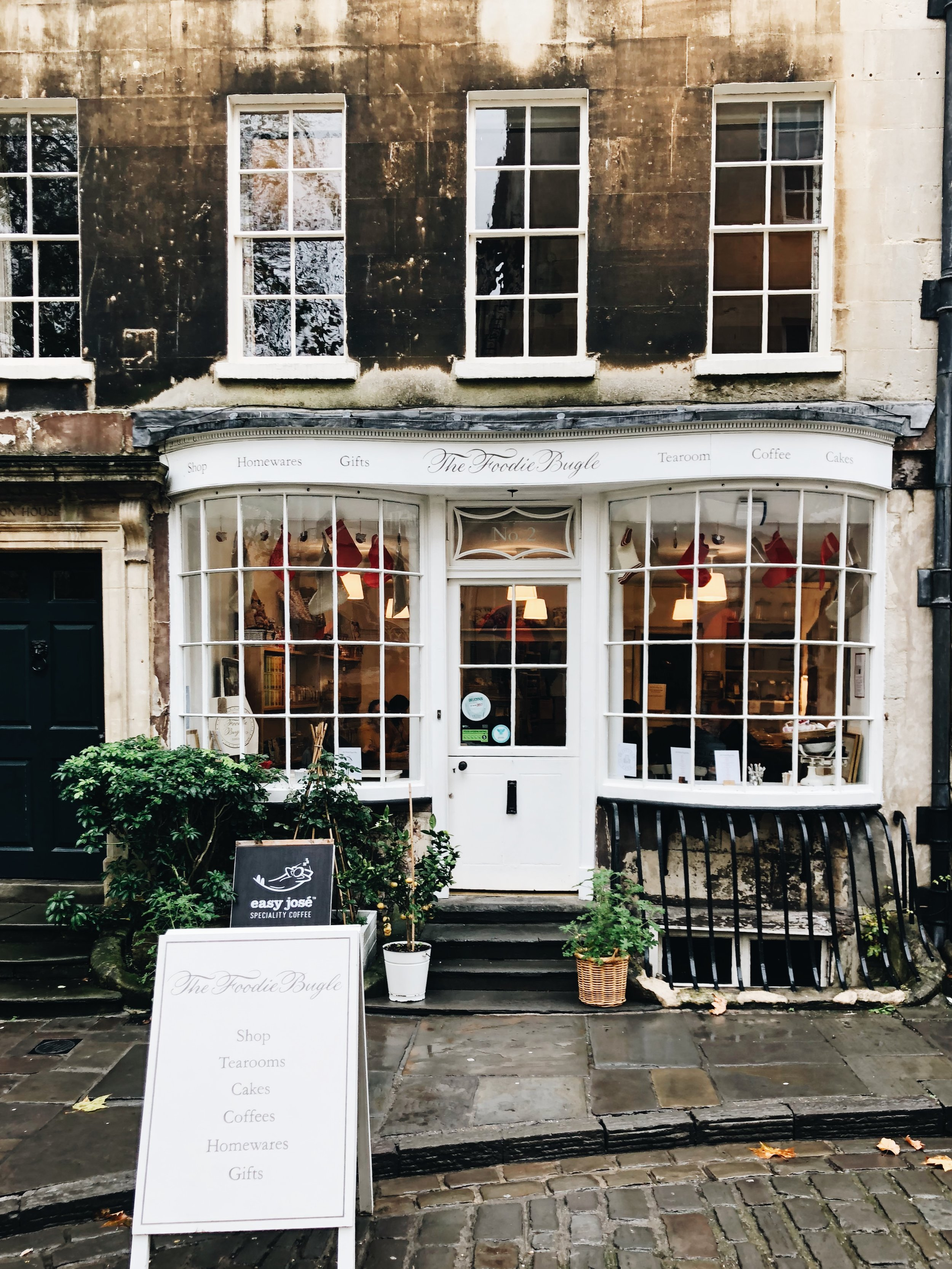 Foodie Bugle Shop | Bath, England | Sea of Atlas