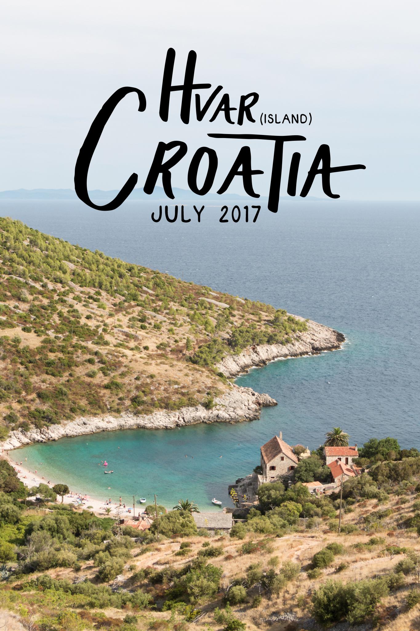Hvar Island, Croatia | Sea of Atlas
