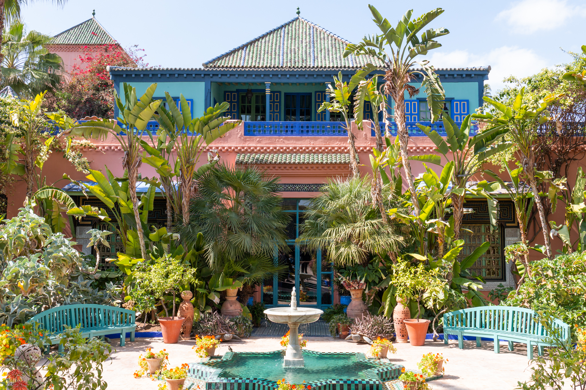 Yves Saint Laurent Museum and Jardin Majorelle | Marrakech, Morocco | Ciao Fabello