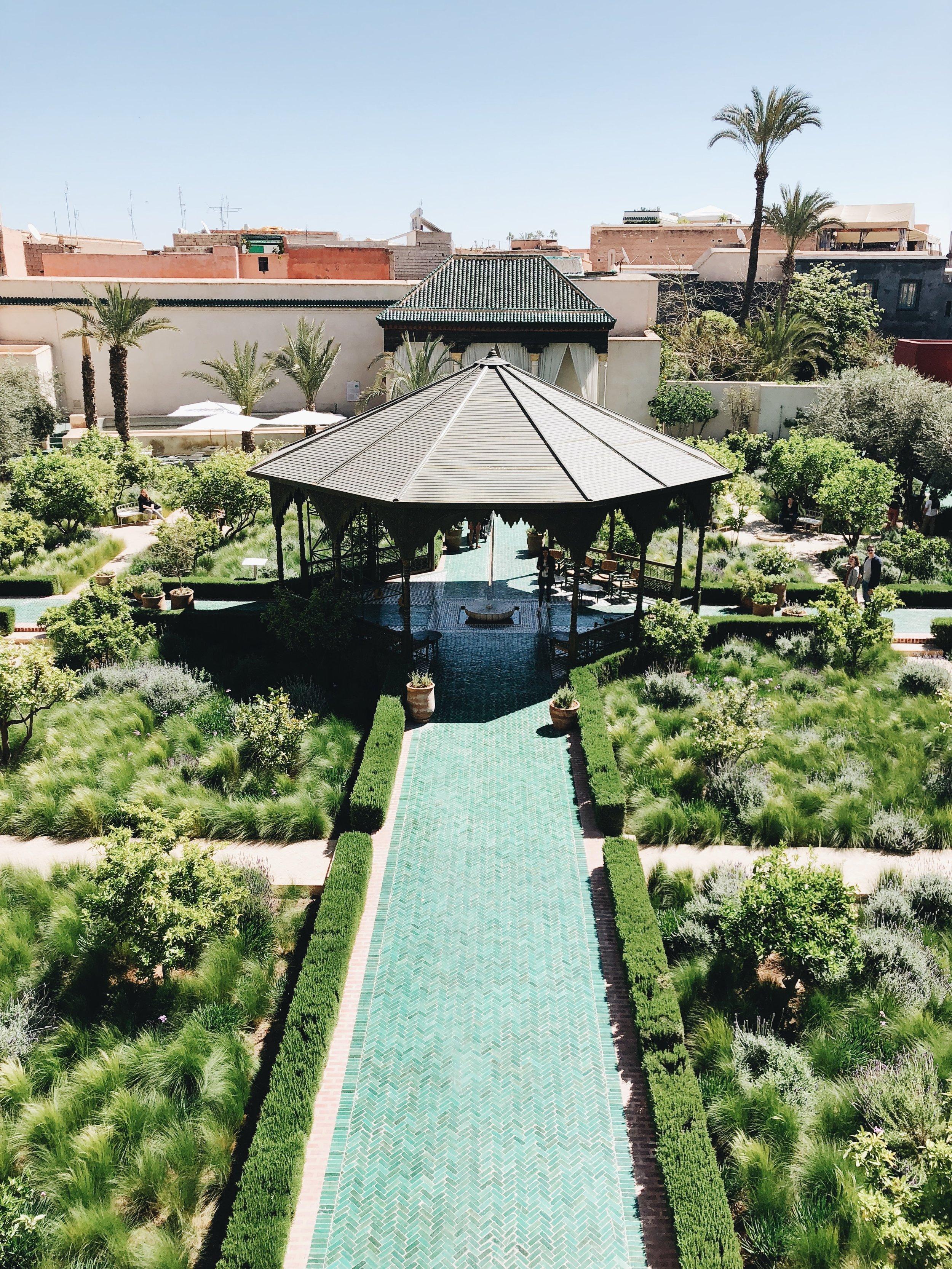 La Jardin Secret   Marrakech, Morocco   Ciao Fabello