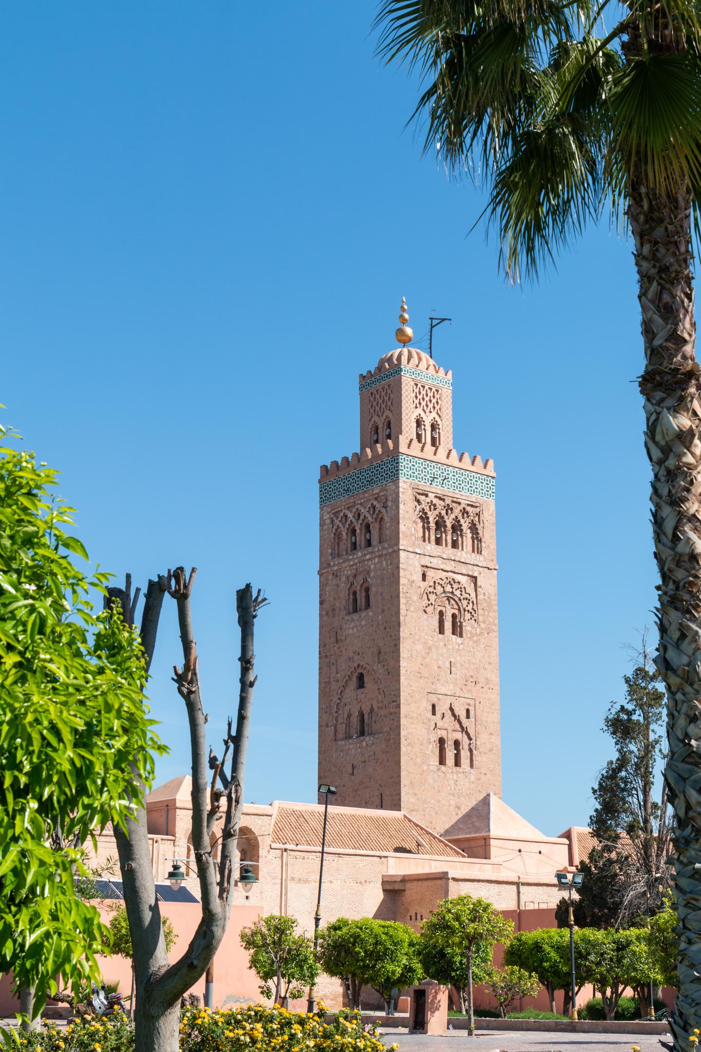 Koutoubia Mosque   Marrakech, Morocco   Ciao Fabello