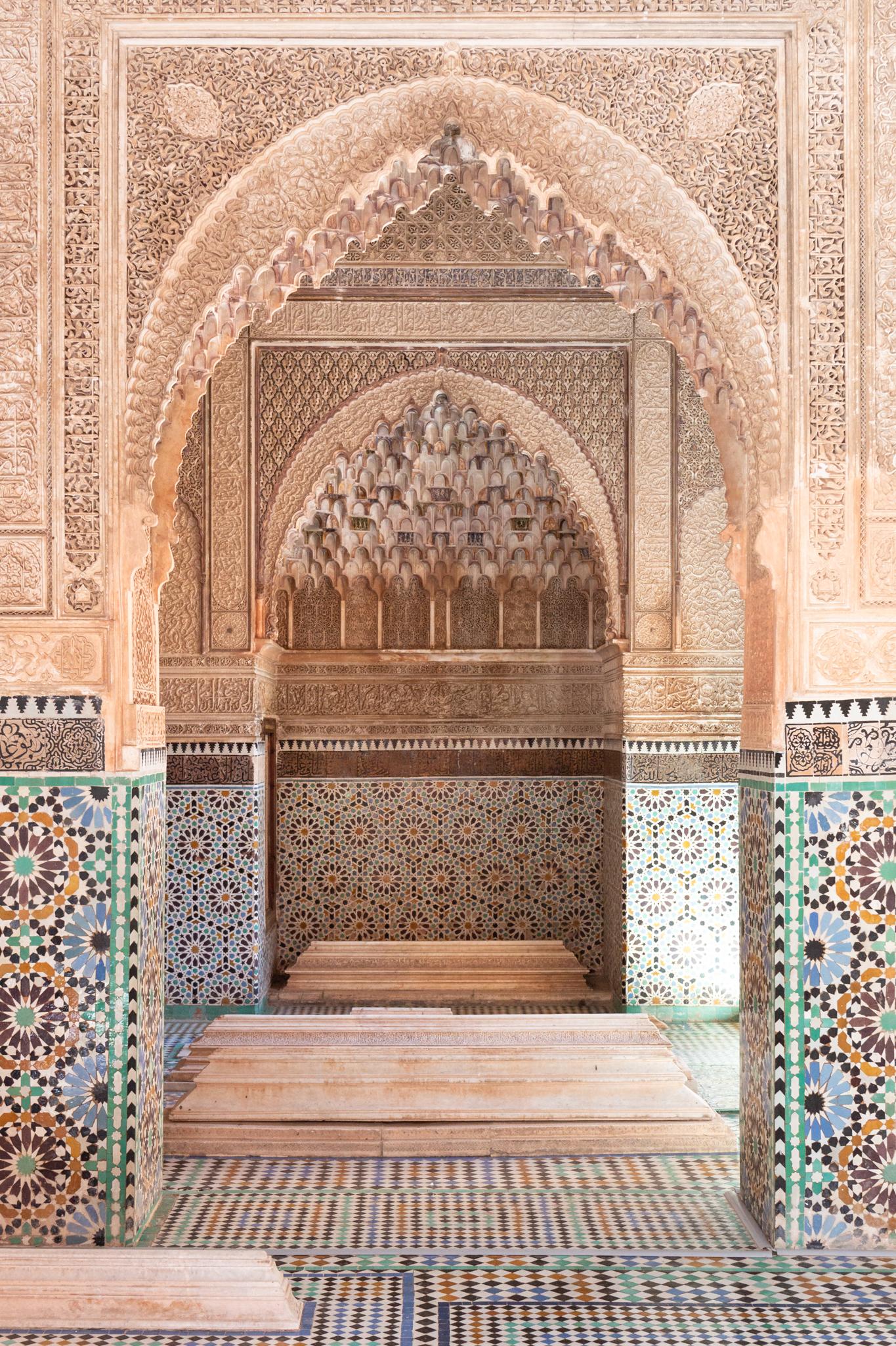 Tombeaux Saadiens   Marrakech, Morocco   Ciao Fabello