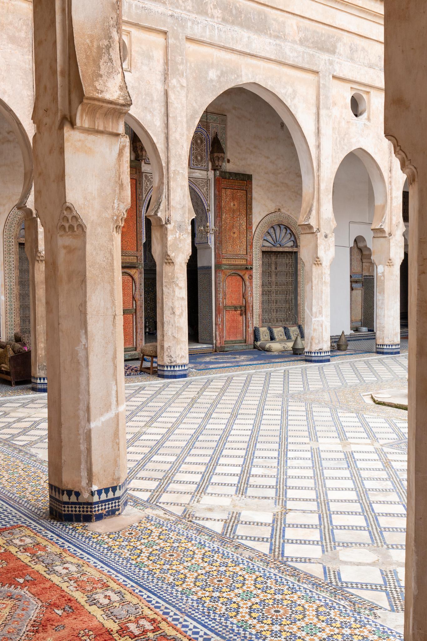 El Glaoui Palace   Fez, Morocco   Ciao Fabello