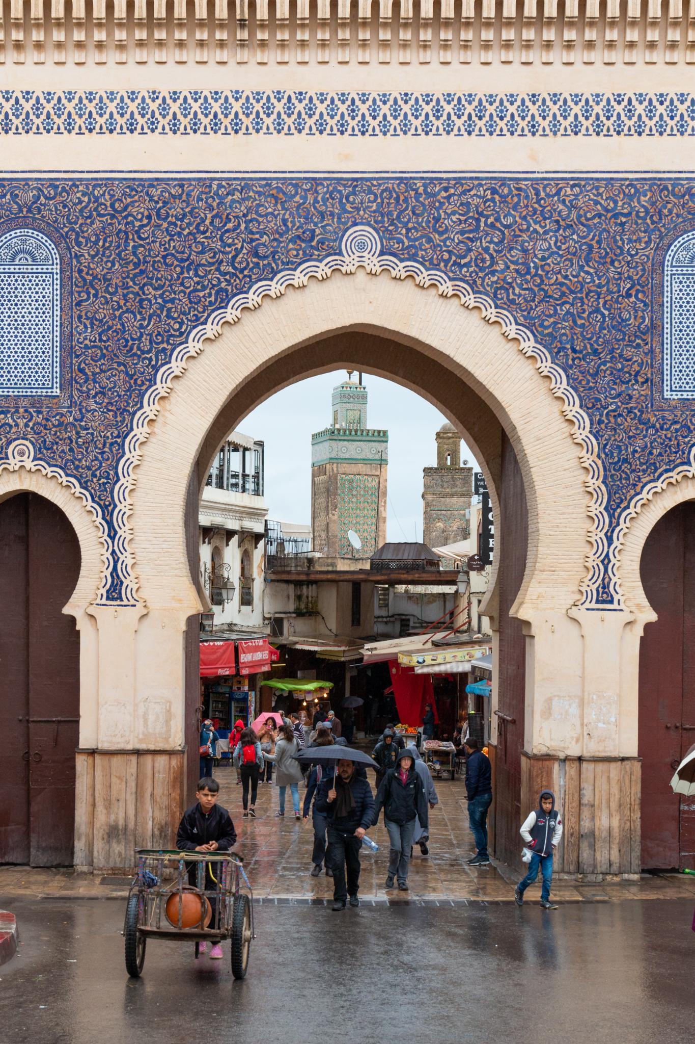 Bab Boujloud   Fez, Morocco   Ciao Fabello