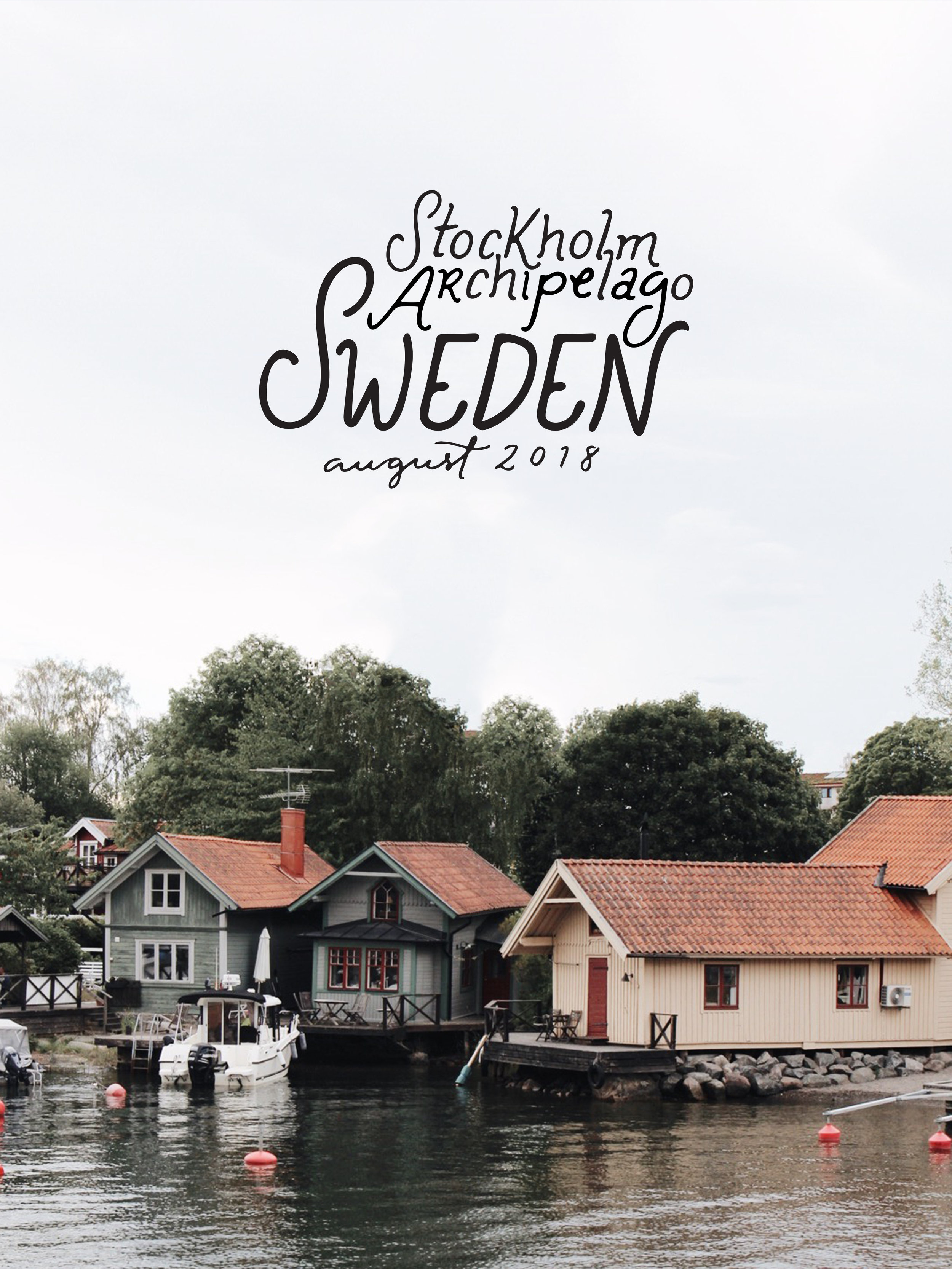 Stockholm Archipelago, Sweden | Ciao Fabello