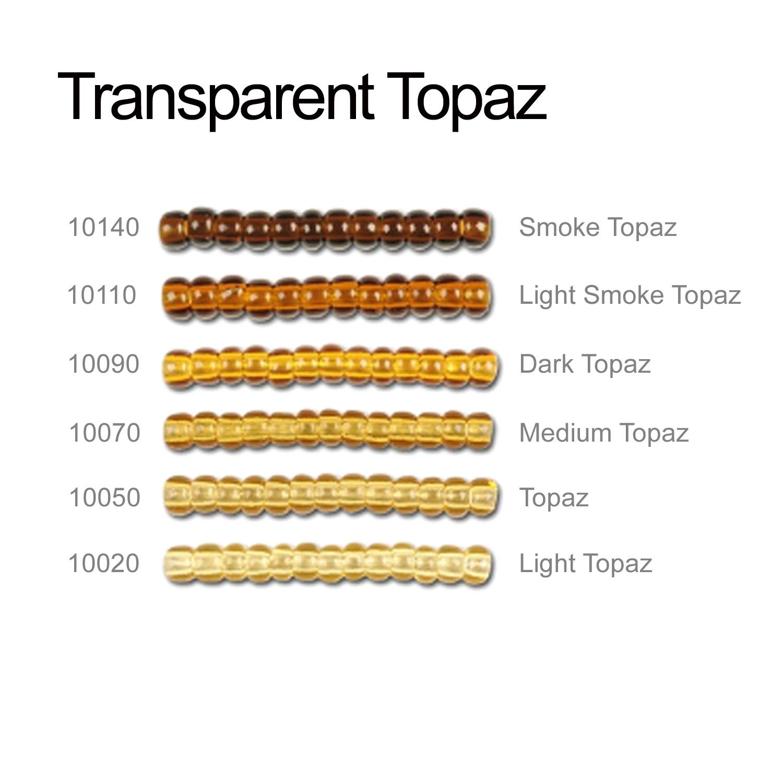 Transparent Topaz Seeds Beads