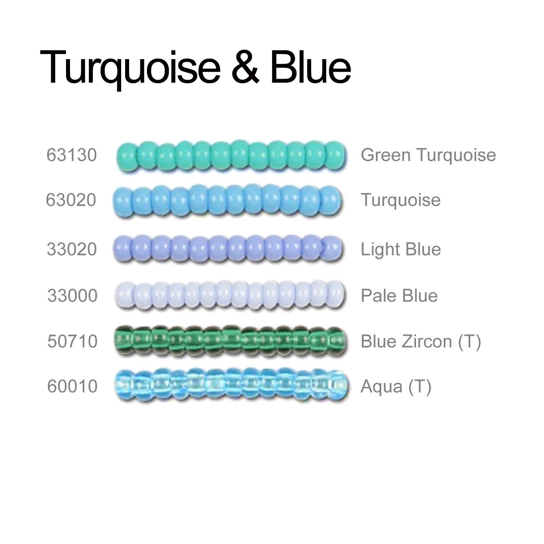 Blue Seeds Beads