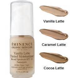 Eminence Tinted moisturizer with SPF 25
