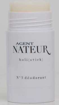 Agent Nateur deodorant will keep you smelling lovely with a light trace of honey, lavender, and eucalyptus