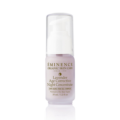 Lavender Night Concentrate- Hydrate and replenish your skin's appearance with this overnight treatment. Rich argan oil, jojoba oil and shea butter improve the look of your skin's density and aid in reducing the appearance of wrinkles.
