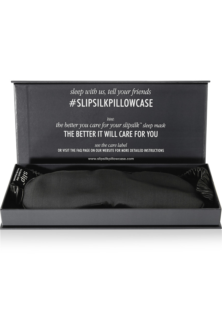 A Charcoal infused silk pillow case and eye pads help keep wrinkles away by reducing friction, and prevent tugging or stretching the skin. Silk Pillow case is also excellent for keeping hair smooth and frizz free. Silk eye pads block out light for a better nights sleep!