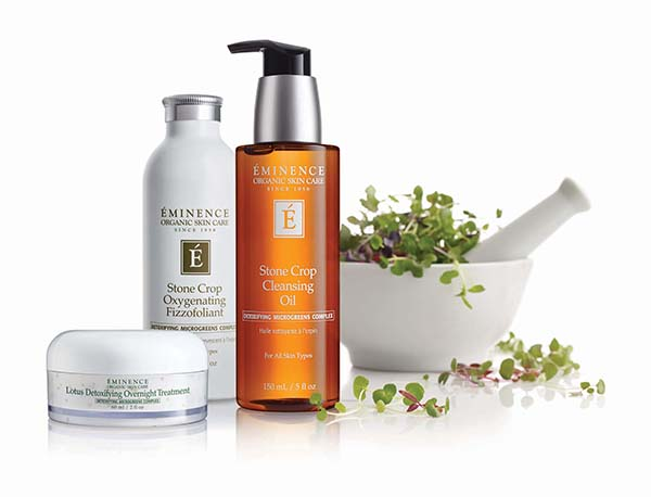 Protect and Detoxify your skin while you sleep. These 3 products Renew, Detox, and Protect your skin from environmental stresses with microgreens. Great for those who want a simple but effective night time skin care regime.