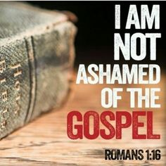 "Sun Dec 13th - Pastor Don Adkins: ""Not Ashamed"""
