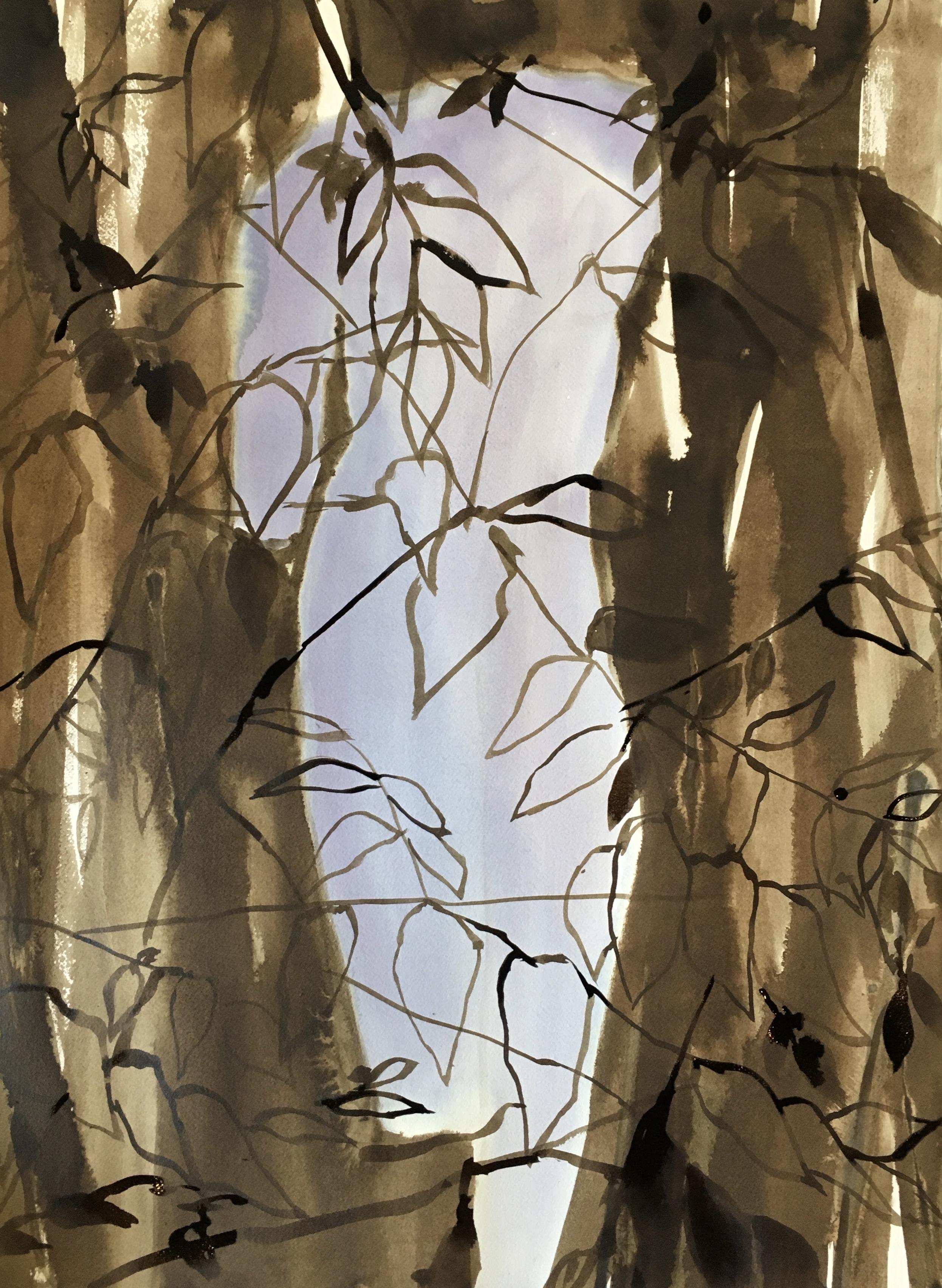 Venus in the Leaves